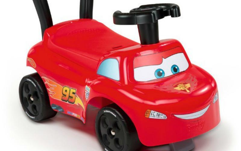 Jazda z Zygzakiem McQueenem – przegląd pojazdów dziecięcych
