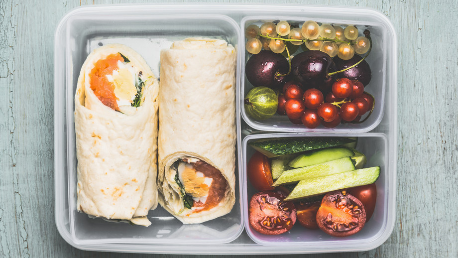 Pakujemy jedzenie do pracy