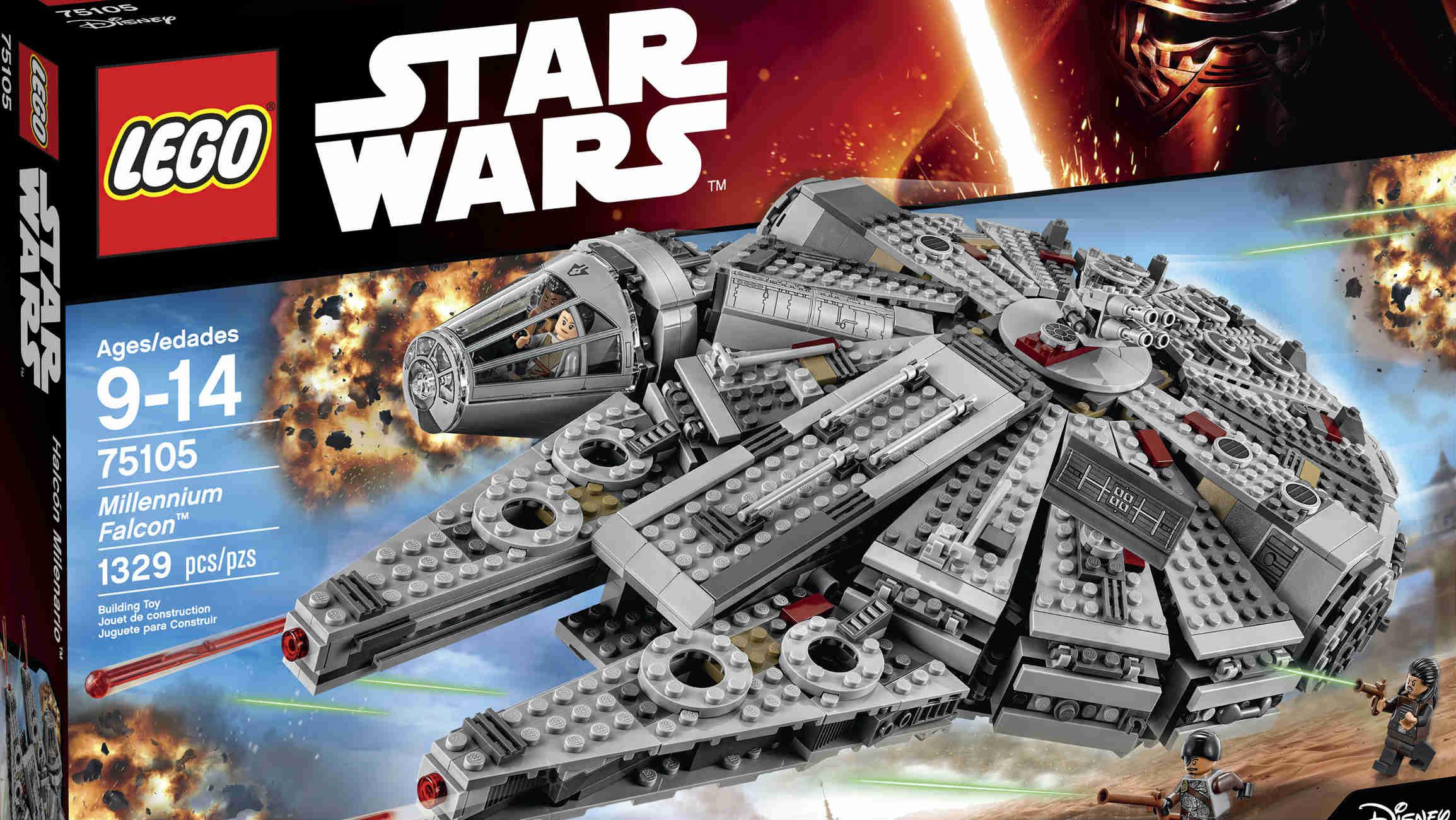 Pojazdy z Gwiezdnych Wojen - zabawki dla przedszkolaka