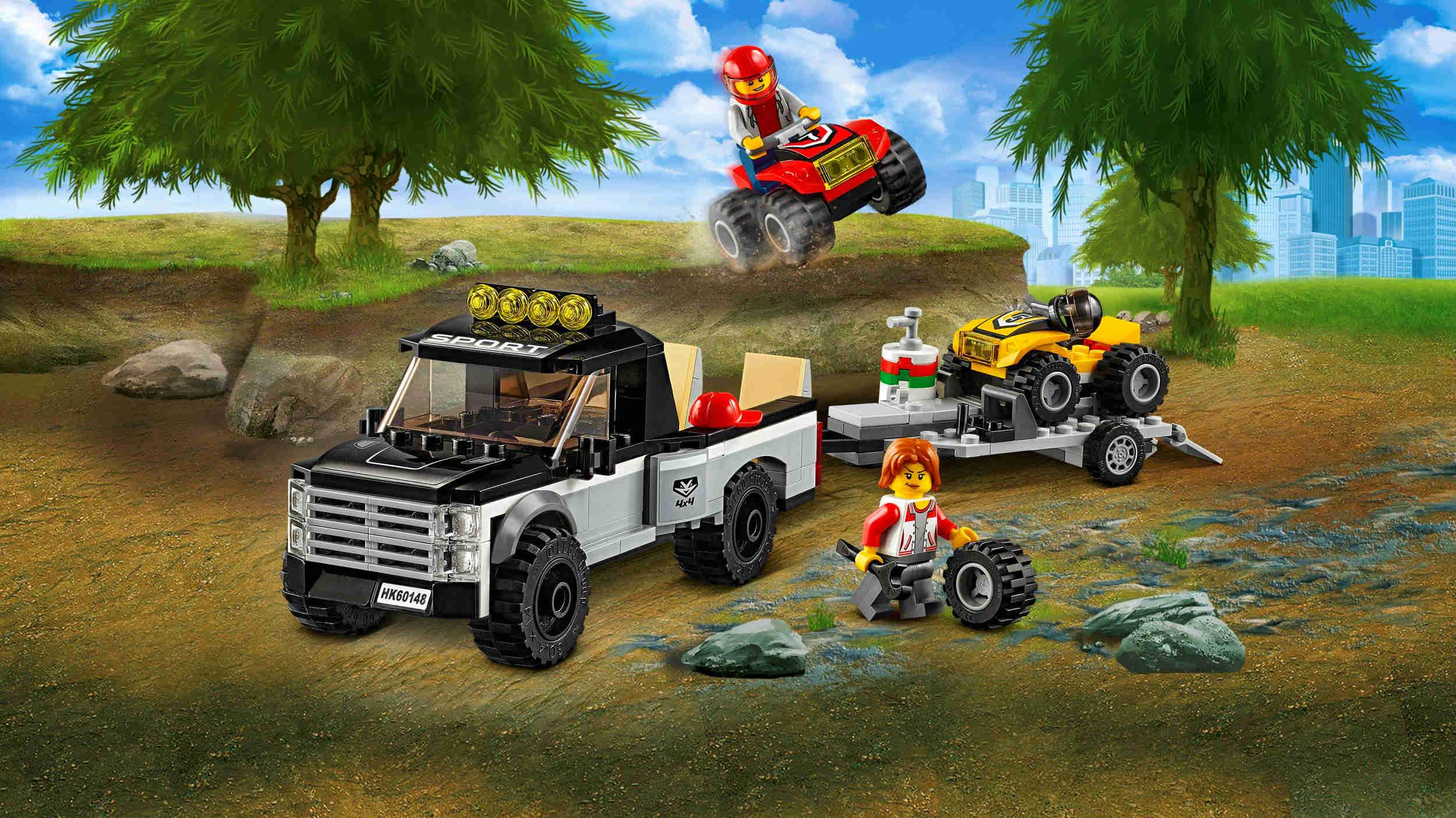 5 superzestawów Lego City do 100 zł