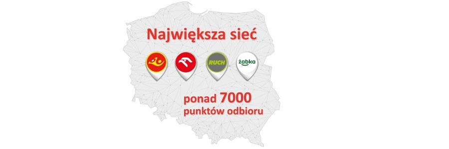 Nadawaj tanio do ponad 7000 punktów odbioru Poczty Polskiej