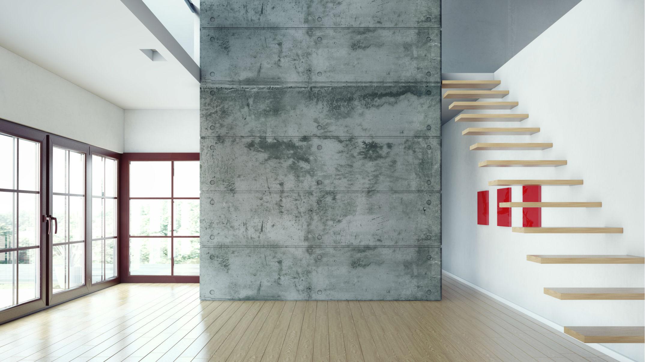 Beton architektoniczny jak go wykorzysta we wn trzu - Beton architektoniczny ...