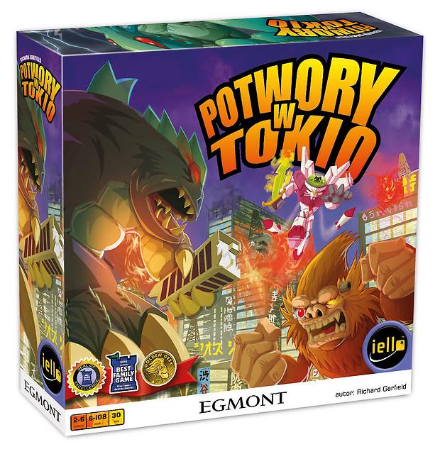 """""""Potwory w Tokio"""" – recenzja gry"""