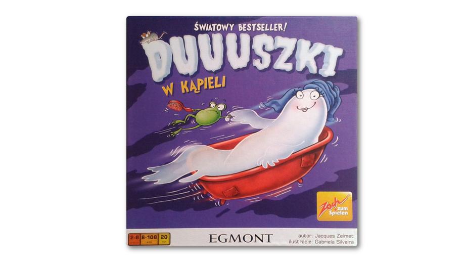 Duuuszki w kąpieli – recenzja gry z dreszczykiem