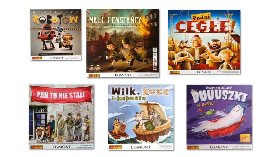 12 najlepszych gier od wydawnictwa EGMONT