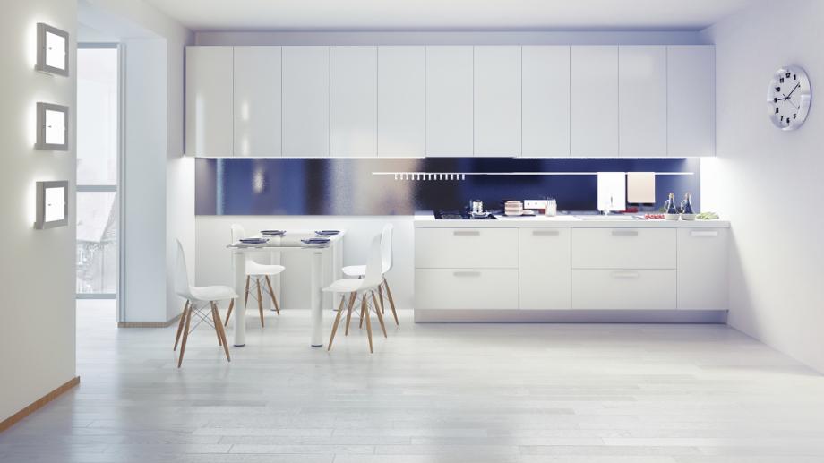 Kuchnia w stylu high tech  Allegro pl