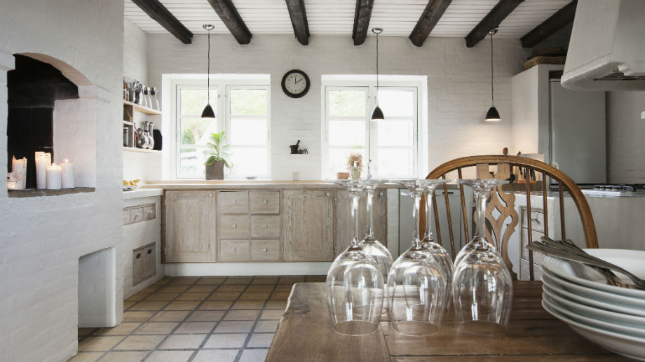 Kuchnia w stylu skandynawskim  Allegro pl -> Kuchnia W Bloku W Stylu Skandynawskim