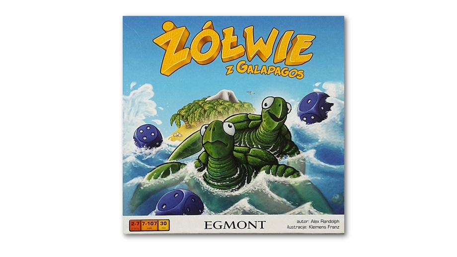 Żółwie z Galapagos – recenzja gry
