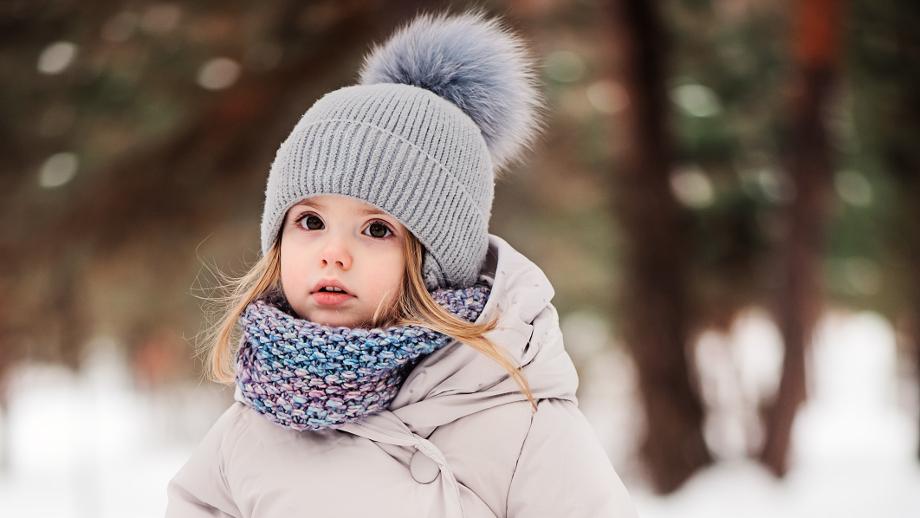 modne zestawy na zimę dla dzieci � czapka i szalik