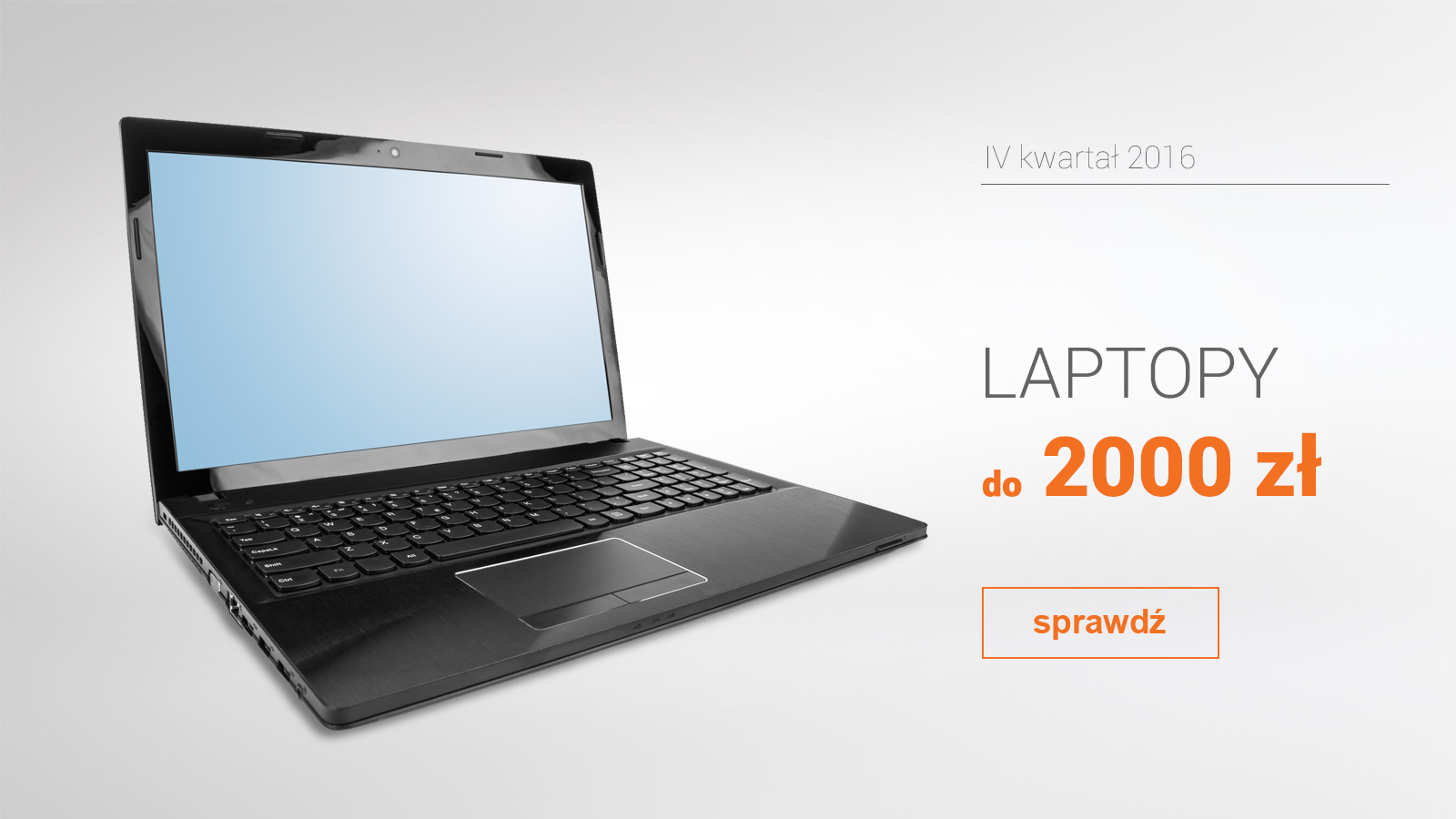 Laptopy do 2000 zł – IV kwartał 2016